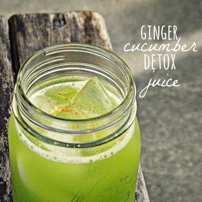 Photo: REV UP Your Body!    Ginger Cucumber Detox Juice    Ingredients ::  2 cucumbers  2 inch knob of ginger  1/2 lime  1 cup of parsley  dash of cayenne pepper  >>>if you like sweeter juice add some watermelon, cantaloupe, or honey dew<<<    http://www.louisianabrideblog.com/2013/04/ginger-cucumber-detox-juice.html