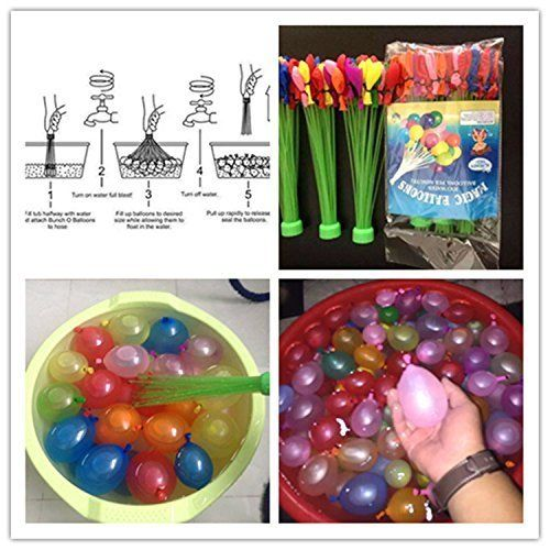 Magic Bunch O Water Balloons: Fill 100 Water Balloons in 60 Seconds