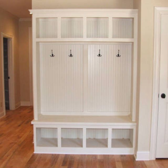 mudroom bench with coat hooks storage - Coat Hooks With Storage