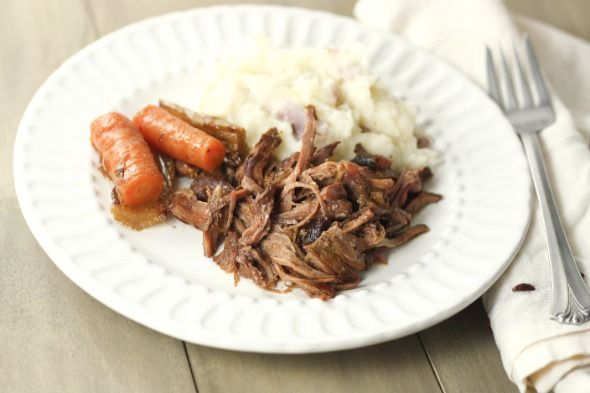 French Onion Pot Roast - Very good. Adjusted a bit by adding half an onion and a beef bouillon cube.