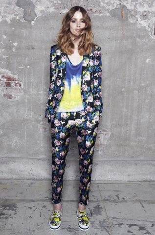 MSGM Resort 2014 // Learn how to hand render a floral print http://www.universityoffashion.com/lessons/rendering-floral-print/
