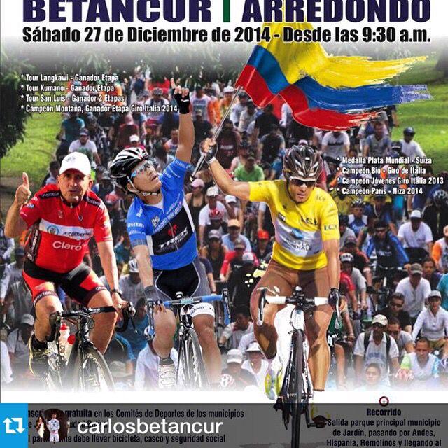 """""""Ciclo paseo"""" con @carlosbetancur"""