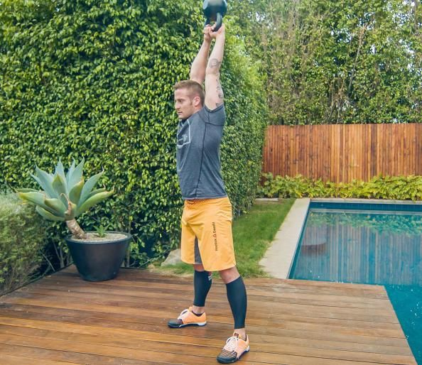Weekend One-Up: Hand-Release Pushups, Box Jump-Overs, Kettlebell Swings, and Burpees