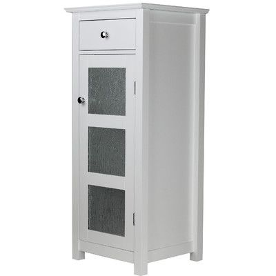 """Elegant Home Fashions Connor 15"""" W x 36"""" H Free Standing Cabinet"""