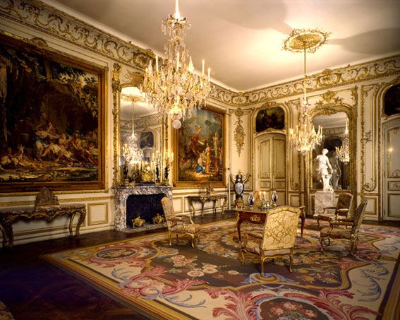 The Rothschild Room 18th-century French salon Gift of Baron Edmond and  Baroness Nadine de