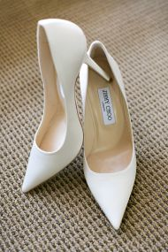 All-White + Gold Wedding Day at Monterey Peninsula Country Club - Style Me Pretty
