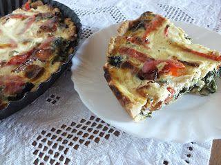 Ízőrző: Spenótos pite (quiche)