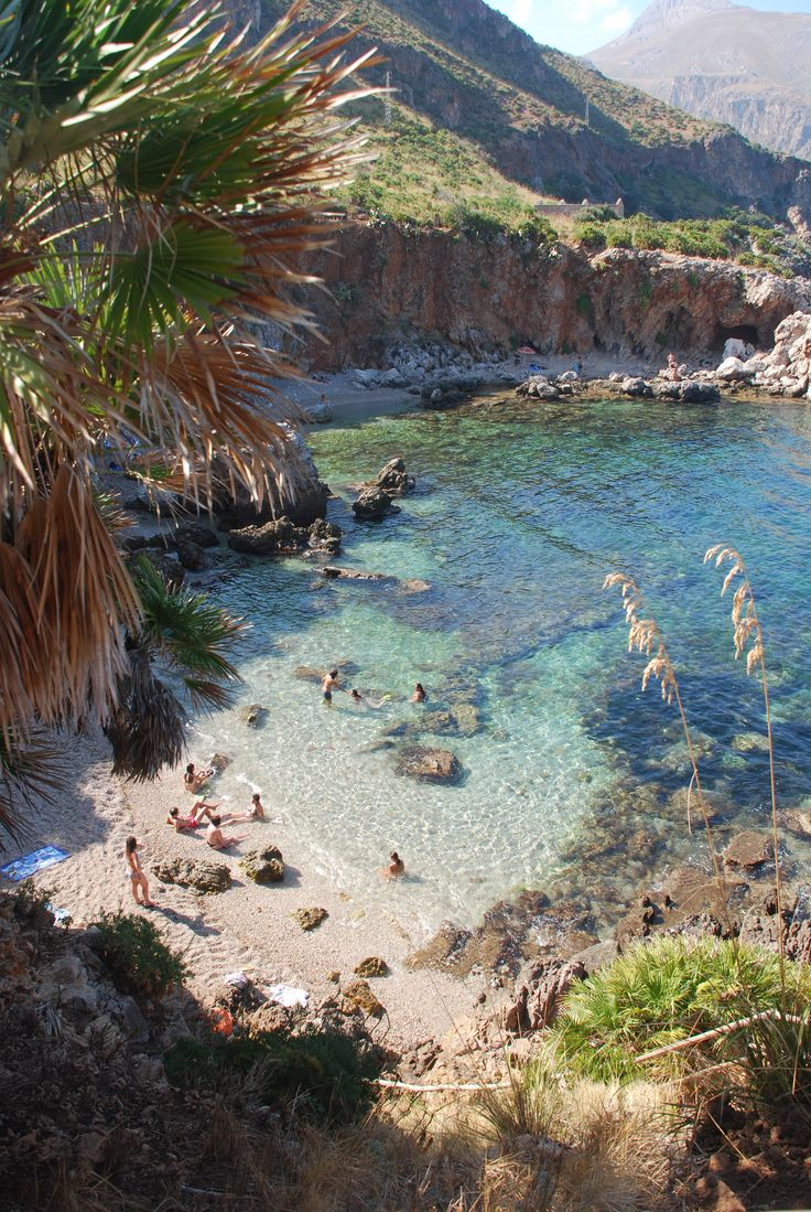 Lo Zingaro, Sicilia