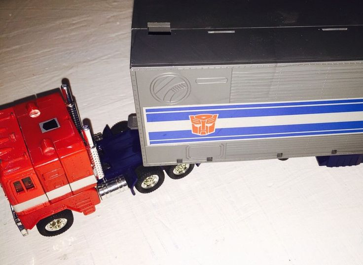 Optimus Prime G1 Vintage Original Transformers 1980 S 1980s Transformer Trailer Hasbro Cab by JJsMarketplace on Etsy