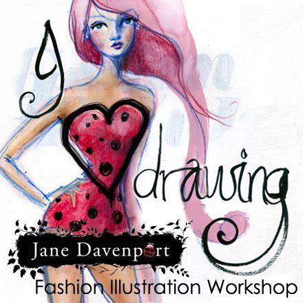 Jane Davenport - I heart drawing