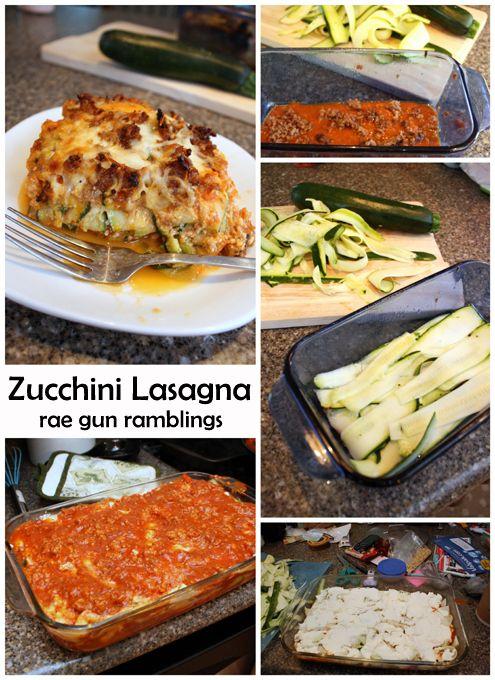 Super yummy zucchini lasagna recipe - Rae Gun Ramblings