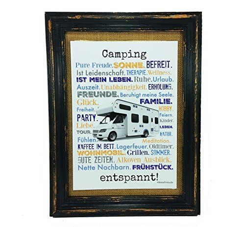 Camping entspannt. Druck Poster A4 Wohnmobil Womo Camper Caravan Geschenk AnneSvea Typo Deko Womo AnneSvea http://www.amazon.de/dp/B01CUY7X80/ref=cm_sw_r_pi_dp_kz14wb0FMN6BY
