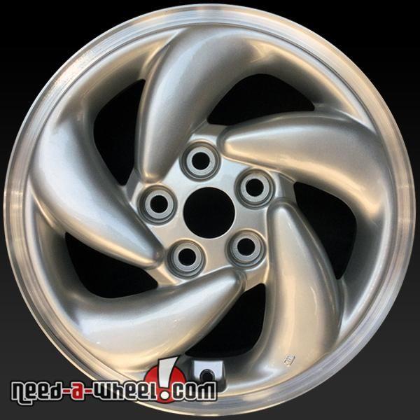 "1995-1996 Mitsubishi Eclipse oem wheels for sale. 16"" Silver stock rims 65748 https://www.need-a-wheel.com/rim-shop/16-mitsubishi-eclipse-oem-wheels-rims-silver-65748/, , #oemwheels, #factorywheels"