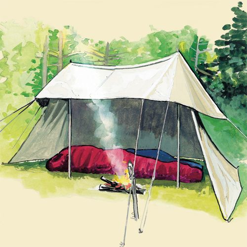 Frost River 352 Whelen Lean-to Tent drawing & 346 best Shelters images on Pinterest | Camping ideas Tents and ...