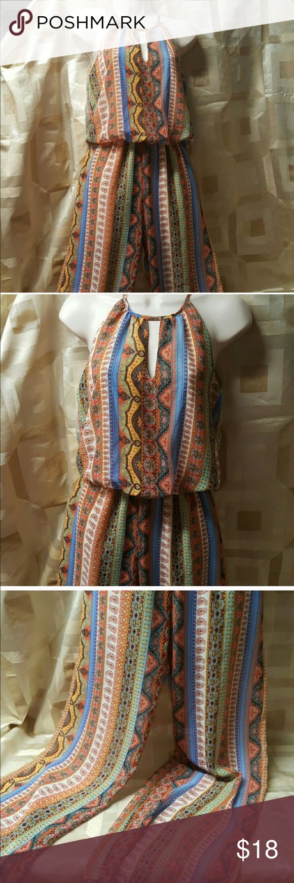 Boho jumper romper Perfect condition aztec jumper Urban Outfitters Pants Jumpsuits & Rompers