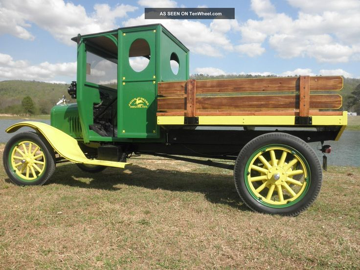 Rare 1926 Ford Model Tt John Deere Delivery Truck Model T photo