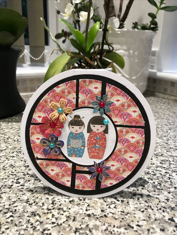 Made by Maxcine Etherington for Craftwork Cards using the beautiful Kimono Collection x