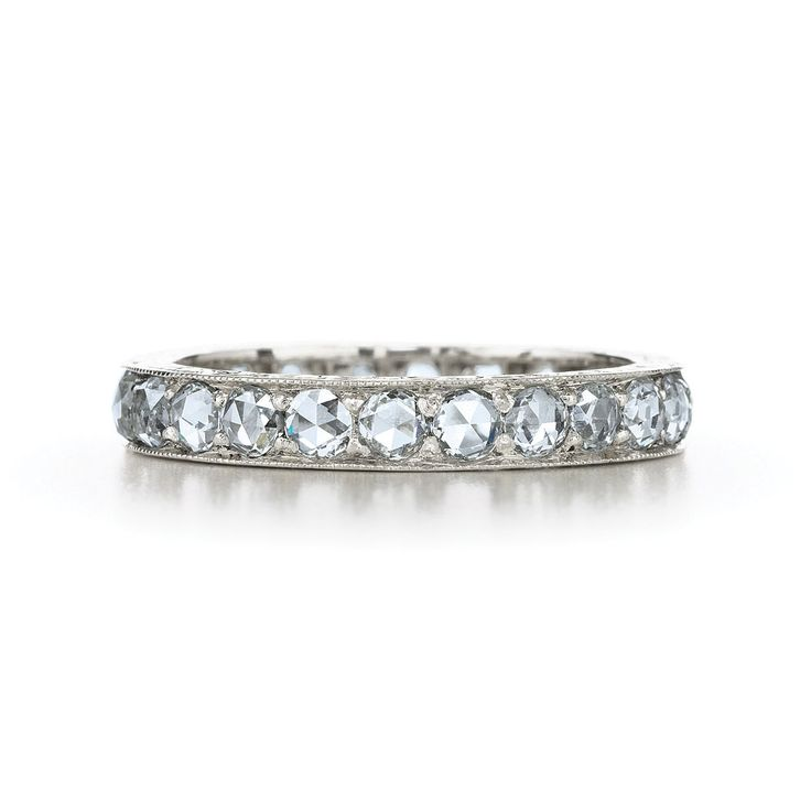 wedding ring with cut diamonds from the kwiat