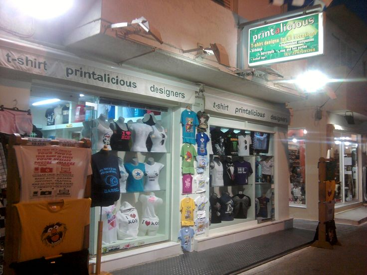 Looking for that souvenir T-shirt from your #Kos 2014 Holiday then try Printalicious in #Kardamena.