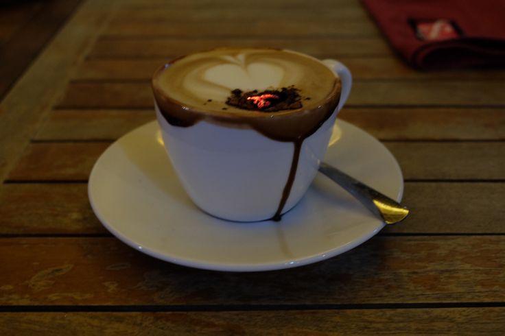 Kopi Bakar  Delightful sweet with slightly burnt aroma cup of traditional Javanese coffee