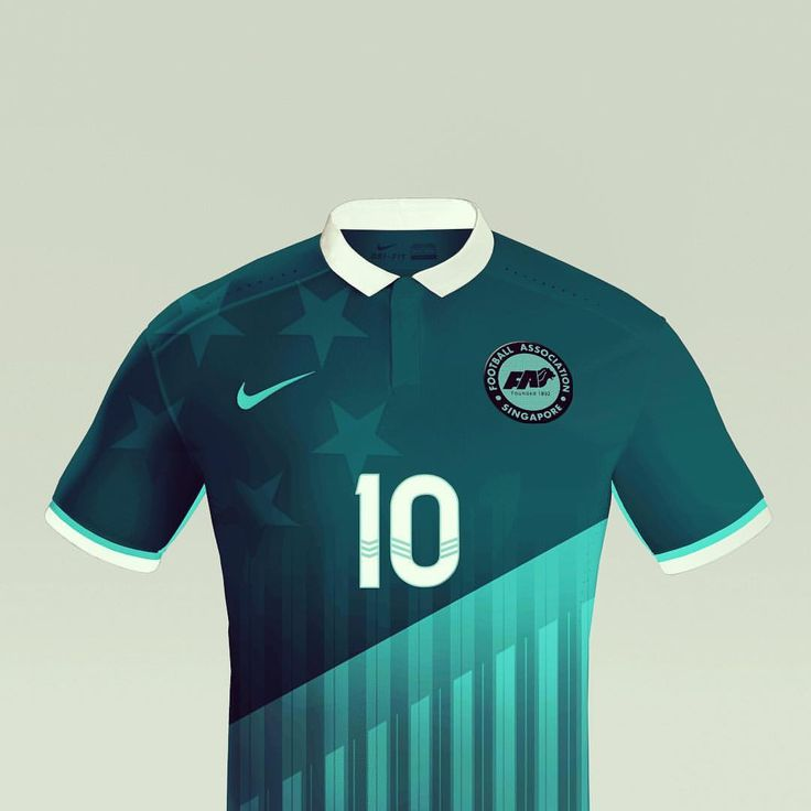 Football Association Singapore away concept kit  @twosixoneone nike #jersey #soccer #fantasy #kit #FAS