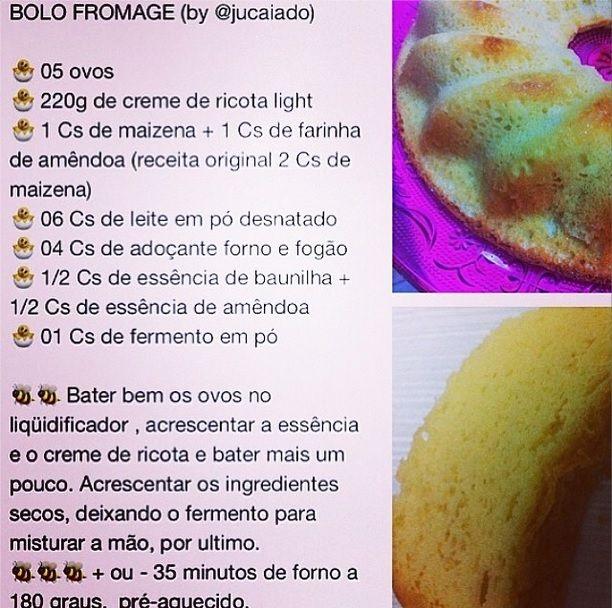 Bolo Fromage - by @Julia Caiado