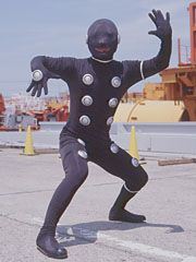 Slate is a copycat criminal that can mimic any monsters form with DNA aquired from Broodwing. Slate mimics Rhinix, Bugglesworth, Hydrax, Tomars, Sinuku, and Devastation. He also has his own giant robot, which is destroyed by the Delta Squad Megazord. Morgana uses her power to clone Slate into the six past monsters he was mimicking. With the help of Morgana, the monster squad takes down the Rangers. That is until the Red Ranger calls upon the S.P.D. Battlizer and contains Slate by…