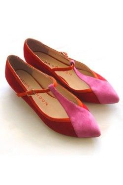 sacha londonColors Combos, Fashion, Red, Coreen Flats, London Coreen, Flats Shoes, Flat Shoes, Sacha London, Art Shoes