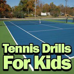 3 Tennis Drills Especially Designed for Kids:  http://www.besttennisdrills.com/tennis-drills-for-kids/  #tennis #sports #kids