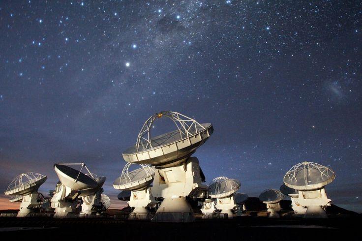 Does Starburst Activity Starve Galaxies of Gas? - Universe Today Alma Atacama