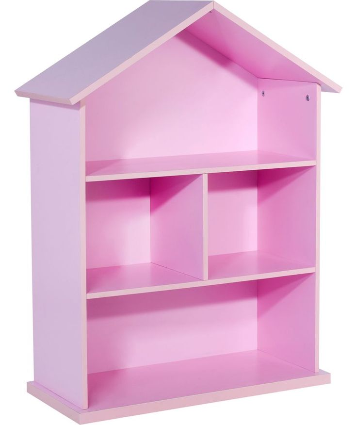 Buy Mia Dolls House Bookcase - Pink at Argos.co.uk - Your Online Shop for Children's toy boxes and storage.