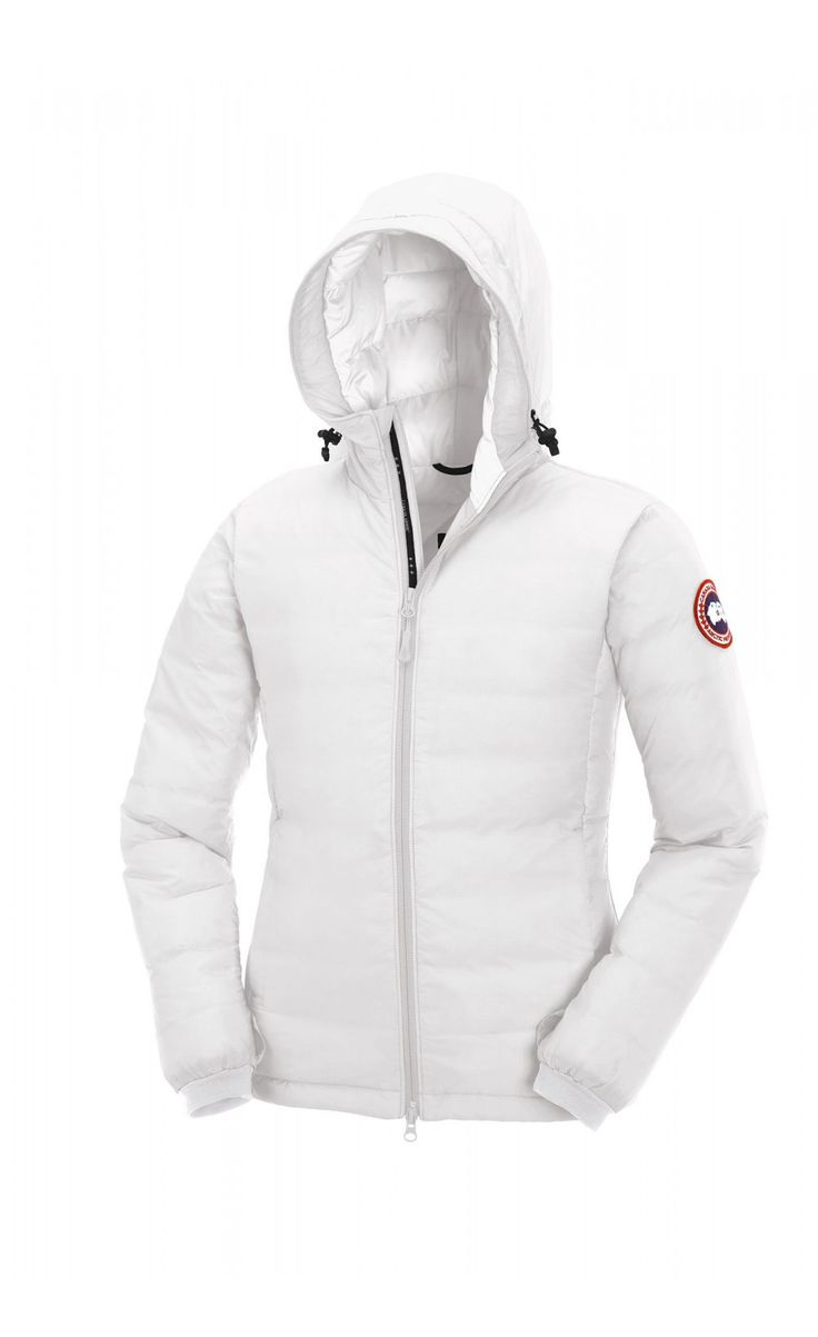 Canada Goose womens sale cheap - Canada Goose Camp Hoody White Women - Canada Goose ($505��$219 ...