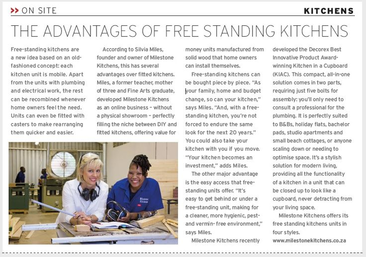 This is good to read if you are considering buying a free standing kitchen. Here I am pictured with Goodness, our head painter. She is brilliant at her job.