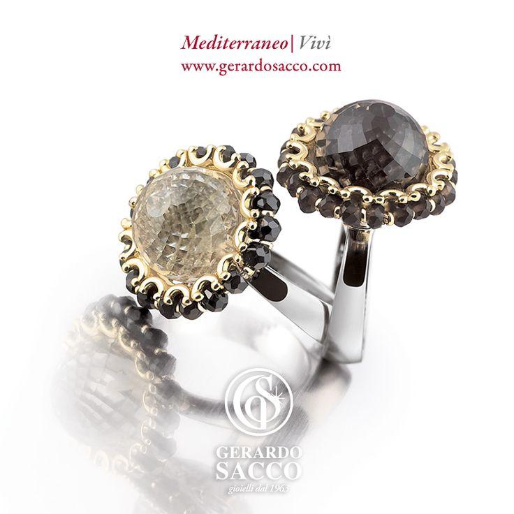 Oro, argento e gemme in una delicata armonia che evoca atmosfere da fiaba… #Vivì il tuo magico sogno firmato #GerardoSacco