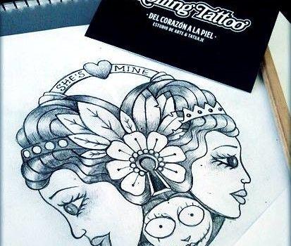 CANDADO DE CORAZÓN OLD SCHOOL   Diseño realizado por Javier Jiménez, tatuador e ilustrador en Rolling Tattoo Fuengirola   Todos los Derechos Reservados   OLD SCHOOL HEART LOCK   Designed by Javier Jiménez, tattooist & Illustrator in Rolling Tattoo Studio   All Rights Reserved   #heart #corazon #oldschool #tattoo #tatuaje #ilustracion #illustration