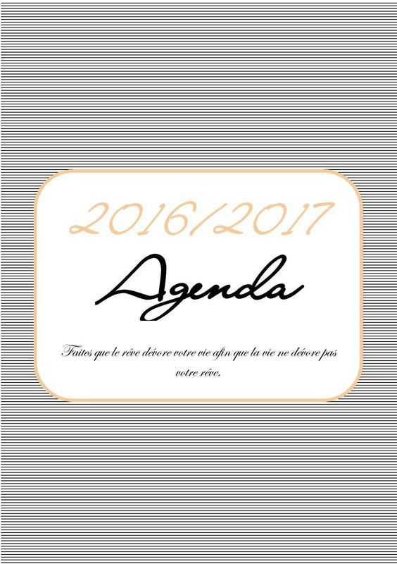 1000 idées sur le thème Agenda Imprimable sur Pinterest | Agendas ...
