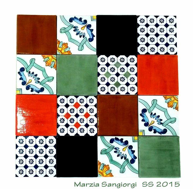 Leather & Tiles Concept by#marziasangiorgi