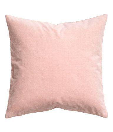 Velvet Cushion Cover | Dusky pink | H&M HOME | H&M US