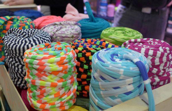 Bobinas de trapillo multicolor!