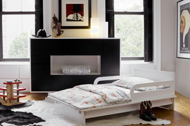 A sleek and contemporary toddler bed, the Petra Argington Bed ($299) is a stylish alternative for the modern tot!
