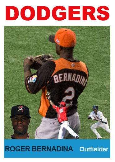 Dodgers Blue Heaven: Welcome to the Blue, Roger Bernadina!