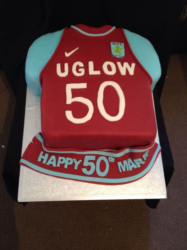 Aston Villa Shirt My Cakes In 2019 60th Birthday