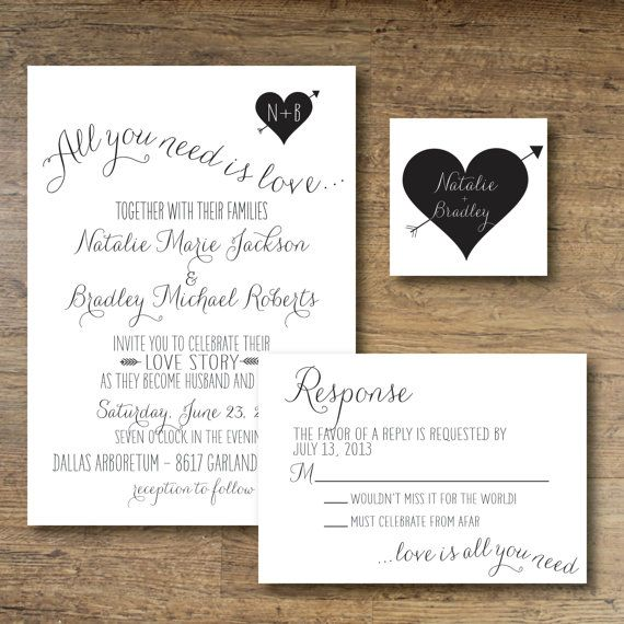 Hey, I found this really awesome Etsy listing at https://www.etsy.com/listing/120306454/printable-wedding-invitation-all-you