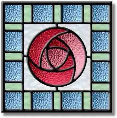 Glasgow Rose Design - Rennie Mackintosh