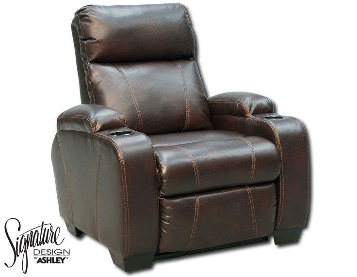 Kevin Cocoa Bonded Leather Reclining Chair Pinterest. Beautiful Couch With Cup  Holders ...
