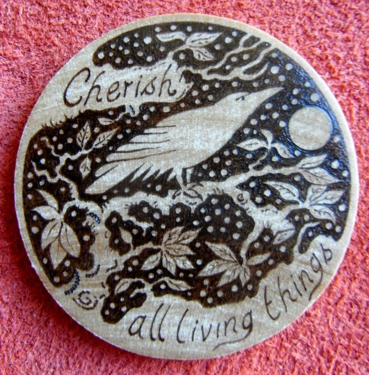 Cherish All Living Things by Gill Rippingale.