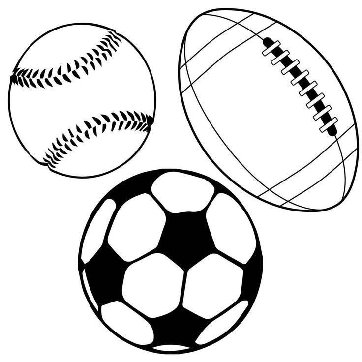 svg balls sports cut file cricut cutting cuts silhouette clip cameo graphics paper choose options