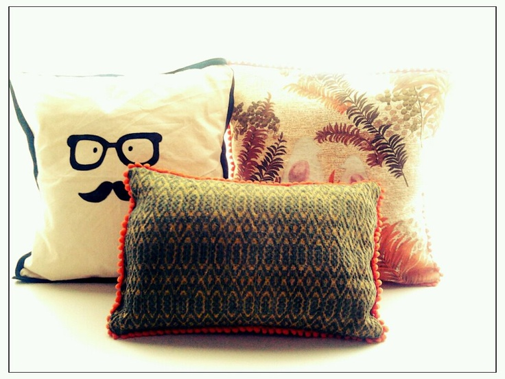 Do you like my MOSCÚ pillows made by myself? :)    www.facebook.com/MoscuFanPage