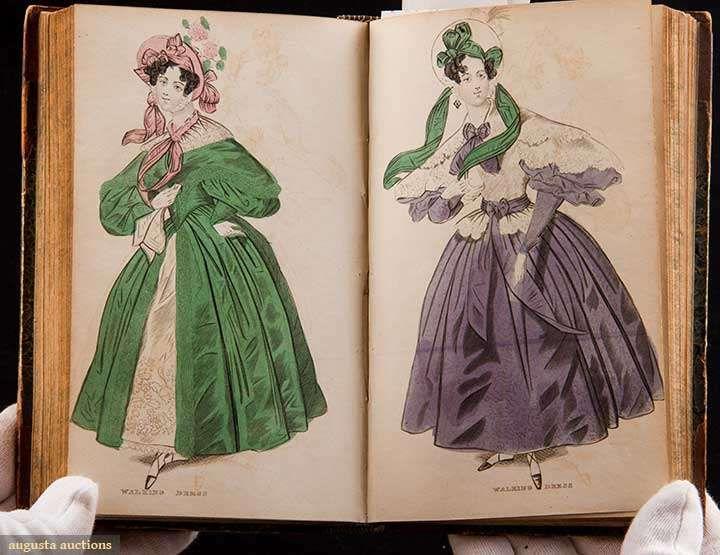 Damenkabinett für Mode, Musik & Romantik, Band V (Bild 10) | England; London | Januar-Juni 1834 | Augusta Auktionen | 25. Oktober 2017