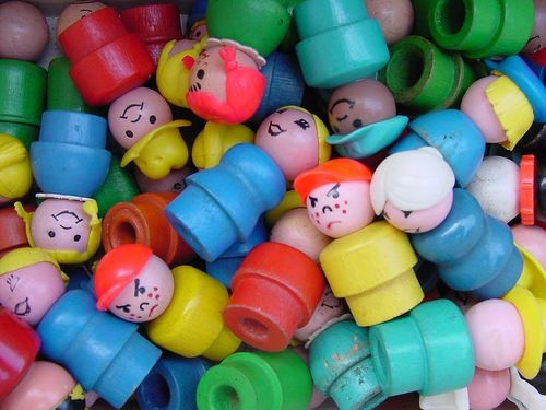 remember when fisher price little people used to be littleand made